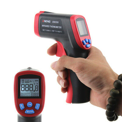 Temp Meter Temperature Gun Non-contact Digital Laser IR Infrared Thermometer H