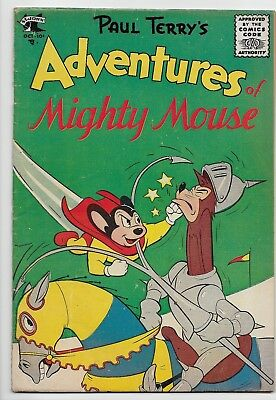 Adventures Of Mighty Mouse #127 FN- 5.5 1955 Scarce St. Johns Comic Book