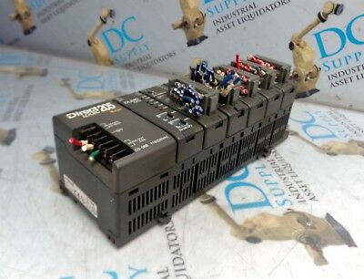 Koyo Direct Logic 205 Dl240Cpu & Other Various I/O Modules Chassis