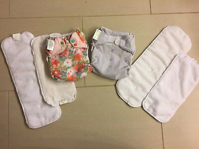 BumGenious Cloth Diapers with inserts