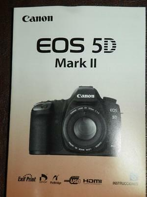 chinese canon eos 5d mark ii camera instruction manual user guide rh picclick com canon 5d mark ii user manual download canon 5d mark ii instruction manual