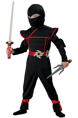 Brand New Stealth Ninja Japanese Samurai Cobra Toddler Costume