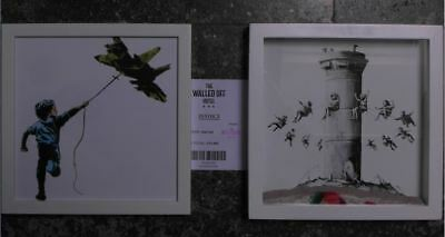 2x Banksy Box Set from The Walled Off Hotel. World wide shipping.