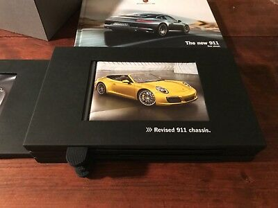 PORSCHE  Collectible 911 DESK DISPLAY BOOK PROMOTIONAL CLIENT limited edition