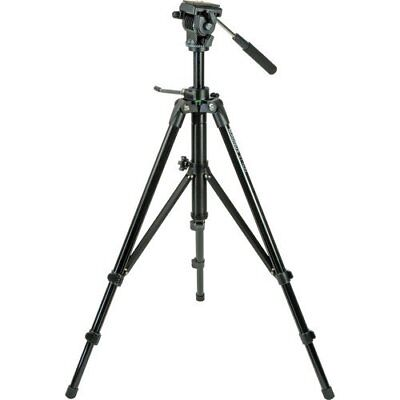 Magnus VT-400 Aluminum Tripod System with 2-Way Fluid Pan Head Free Shipping