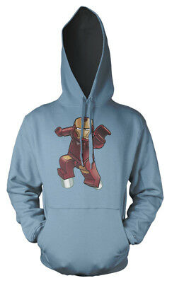 Lego Iron Man Avengers Superhero mash up Kids Hoodie