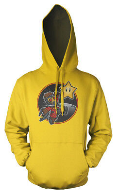 Mario Bros Guardian of the Galaxy Movie Gaming Mash Up Kids Hoodie