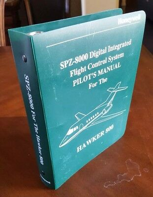 Honeywell SPZ-8000 Digital Flight Control System Pilot's Manual for Hawker 800
