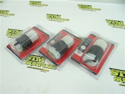 New 3Pc Lot Of Legrand Straight Blade Connectors 5-15Rnema 15Amp