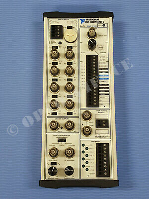 National Instruments BNC-2120 Connector Block w Function Generator, Quad Encoder