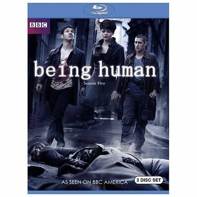 Being Human: The Complete Fifth Series (Blu-ray Disc, 2013, 2-Disc Set) NEW
