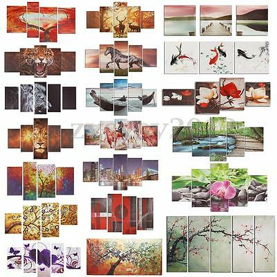 Unframed Colorful Modern Art Canvas Oil Painting Print Picture Home Wall Decor