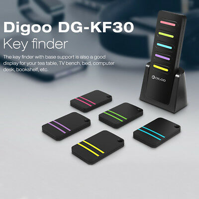 Digoo 5 in 1 mini LED Smart Anti-Lost Tracker 433Mhz Alarm Schlüssel Finder GPS