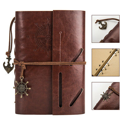 Scrapbook Album DIY Leather Photo Album Travel Memories Album Large Photo Gift