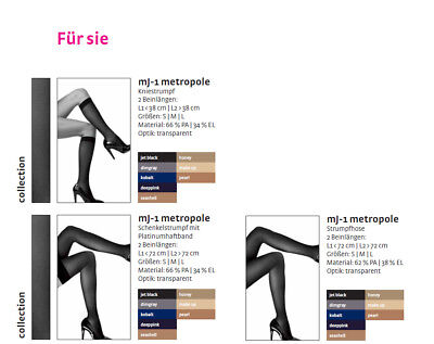 Support Tights Medi mJ-1 Metropole for Her