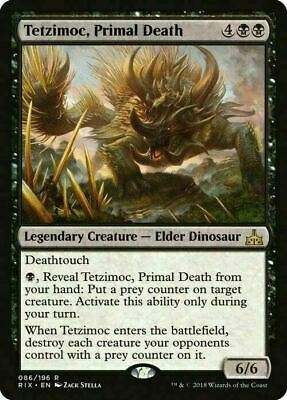 Tetzimoc, Primal Death ~ Rivals of Ixalan ~ MINT/NearMint  MTG