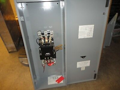 Gould #A203G Size 5 starter 600 volts max in enclosure