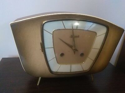 Old German Hermle Clock.good Condition