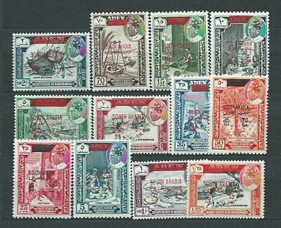 Arabia of the Sur Mail Yvert 53/64 Mh