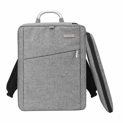 """Men's Laptop Backpack with Headphone Port Business Rucksack Fit 15.6"""" Computer"""
