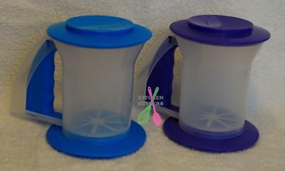 Tupperware Bake 2 Bascics Sift N Store Sifter Blue or Purple- NEW