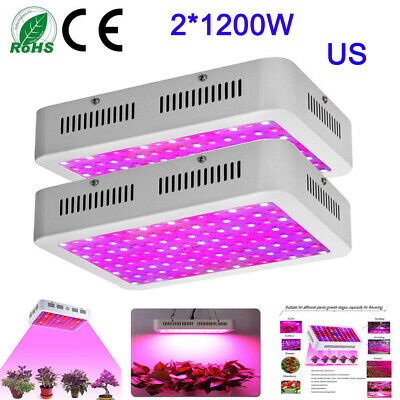 1200W GARDEN LED Grow Light Grow Lamp for Indoor Plants Veg