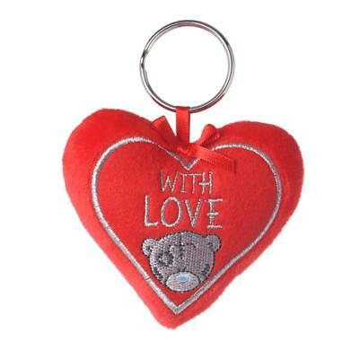 2019 Valentines Day With Love Padded Heart Me to You Tatty Teddy Bear Keyring