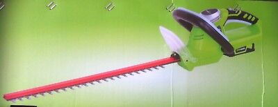 Greenworks 24v Lithium-Ion Cordless Hedge Trimmer With Battery And Charger