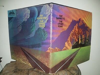 Ray Barretto -The Other Road.Orig.1st.Press.Fania Clouds.Gate-fold-Exc.Nice Copy