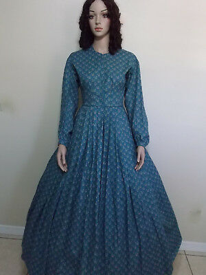 Civil War Dresses Diff Sizes *6-28 Women Lady Dress Clothing Victorian Reenactor