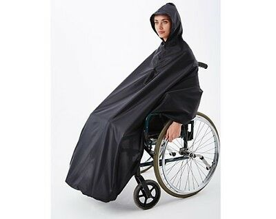 Wheelchair Rain Cover - Fully Waterproof - Storage Pouch -Quick & Easy to Put On