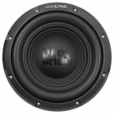 "ALPINE 750 Watt 10"" inch BassLine Series Single 4 Ohm Car Sub Subwoofer 