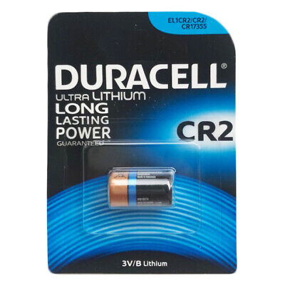 1 x Duracell CR2 Ultra Lithium 3V Batteries CR17355 EL1CR2