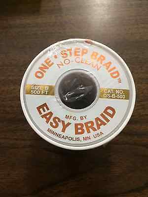 "Easy Braid Solder Wick ""No Clean"" Os-B-500 New"
