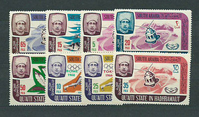 Arabia of the Sur Mail Yvert 74/81 Mnh