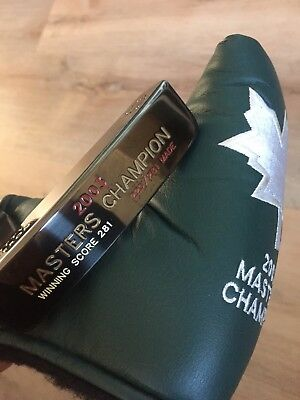 2003 Scotty Cameron Augusta National Masters Edition Mike Weir Linkshand-Putter