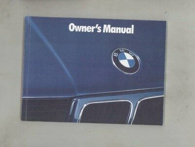 1993 BMW US 525 525i Touring 535 535i M5 MINT ORIGINAL Owner's Manual wy9969