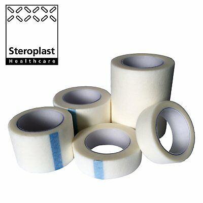 12 Pack Of Sterotape Professional Medical Micropore Hypo-Allergenic Soft Fabric