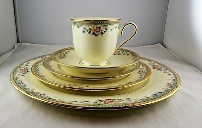 Lenox Fine China 5 Piece Place Setting - Spring Vista
