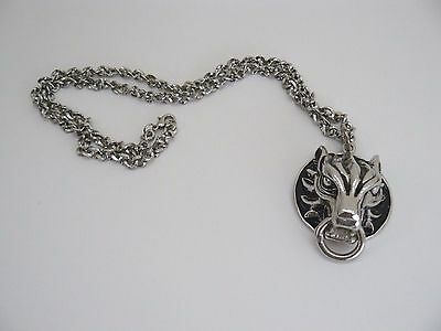 Final Fantasy 7 FF VII Cloudy Wolf Cloud Cosplay Accessories Pendent Necklace