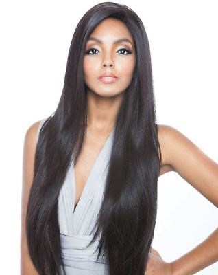 Bs491 - Mane Concept Isis Brown Sugar Human Hair Blend Swiss Whole Lace Wig