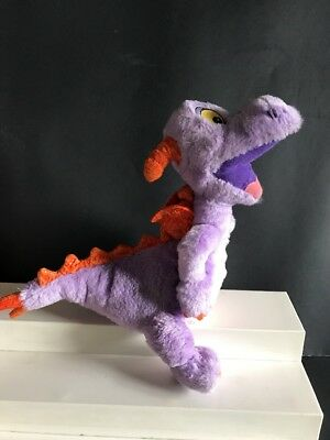 "Disney World FIGMENT Purple DRAGON Plush Stuffed EPCOT VINTAGE  10"" Tall"