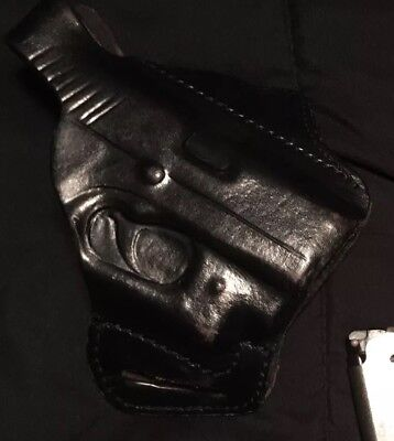 Kahr Cm9 Pm9 With Crimson Trace Laser Custom leather holster