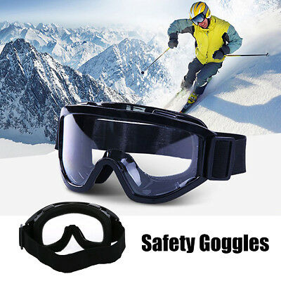 Protective Safety Goggles Sports Glasses Anti Fog Work Eyewear Protection Lab