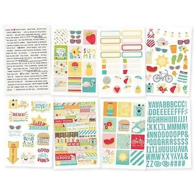 Simple Stories Summer Days Sticker Pack 9117