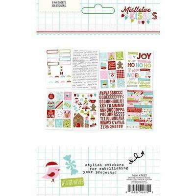 Simple Stories Mistletoe kisses Sticker Pack 7432