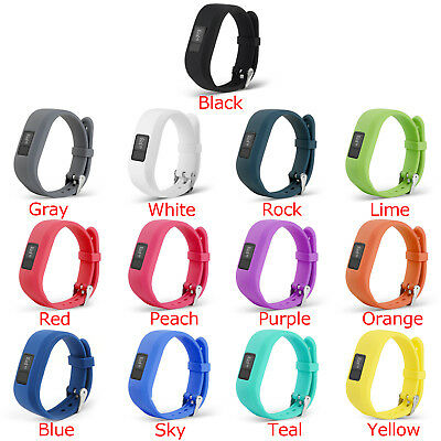 Strap Replacement Bands For Garmin Vivofit 3 Children Watch Silica Gel 13+Col AU