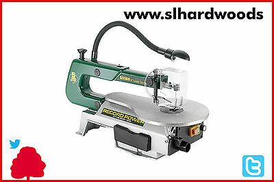 "Woodworking Record Power SS16V 16"" Variable Speed Scroll Saw W/ Light 400mm"