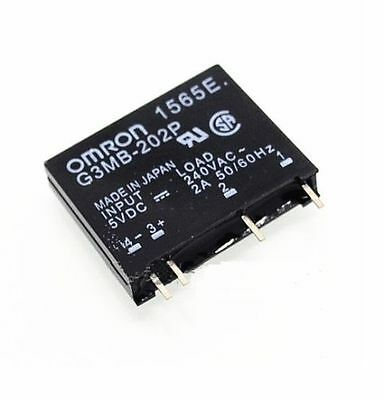 G3MB-202P-5VDC DC-AC PCB SSR In 5V DC Out 240V AC 2A Solid State Relay M&C