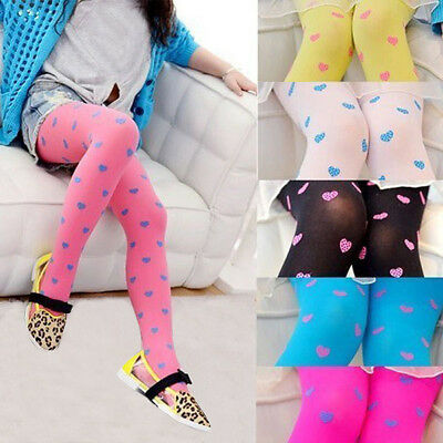 Baby Toddler Infant Kids Girl Cotton Pantyhose Socks Stockings Tights 2-7Y US